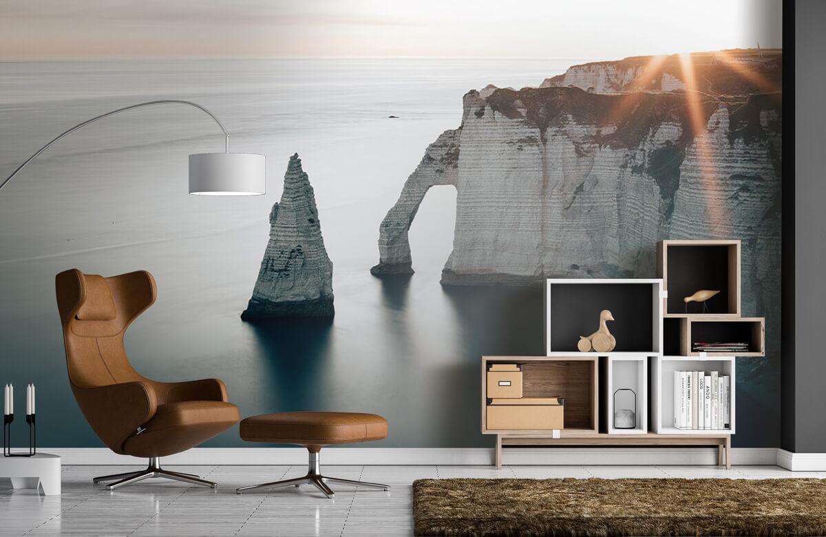 Wallpaper Morgonsol på kusten 8