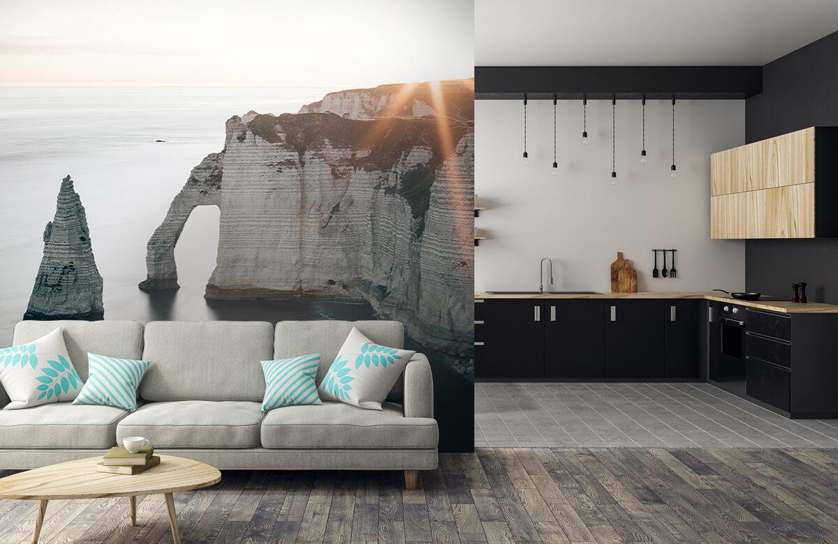 Wallpaper Morgonsol på kusten 9