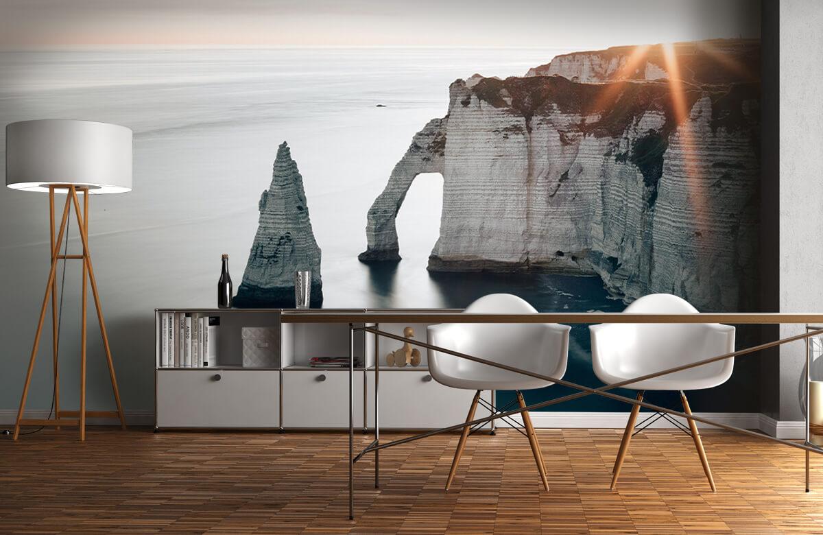 Wallpaper Morgonsol på kusten 1