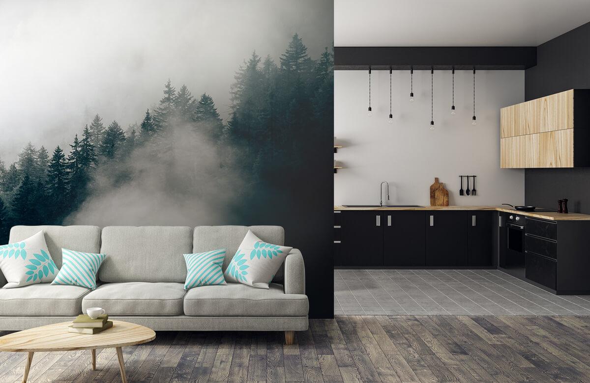 Wallpaper Dimmig alpin morgon 9