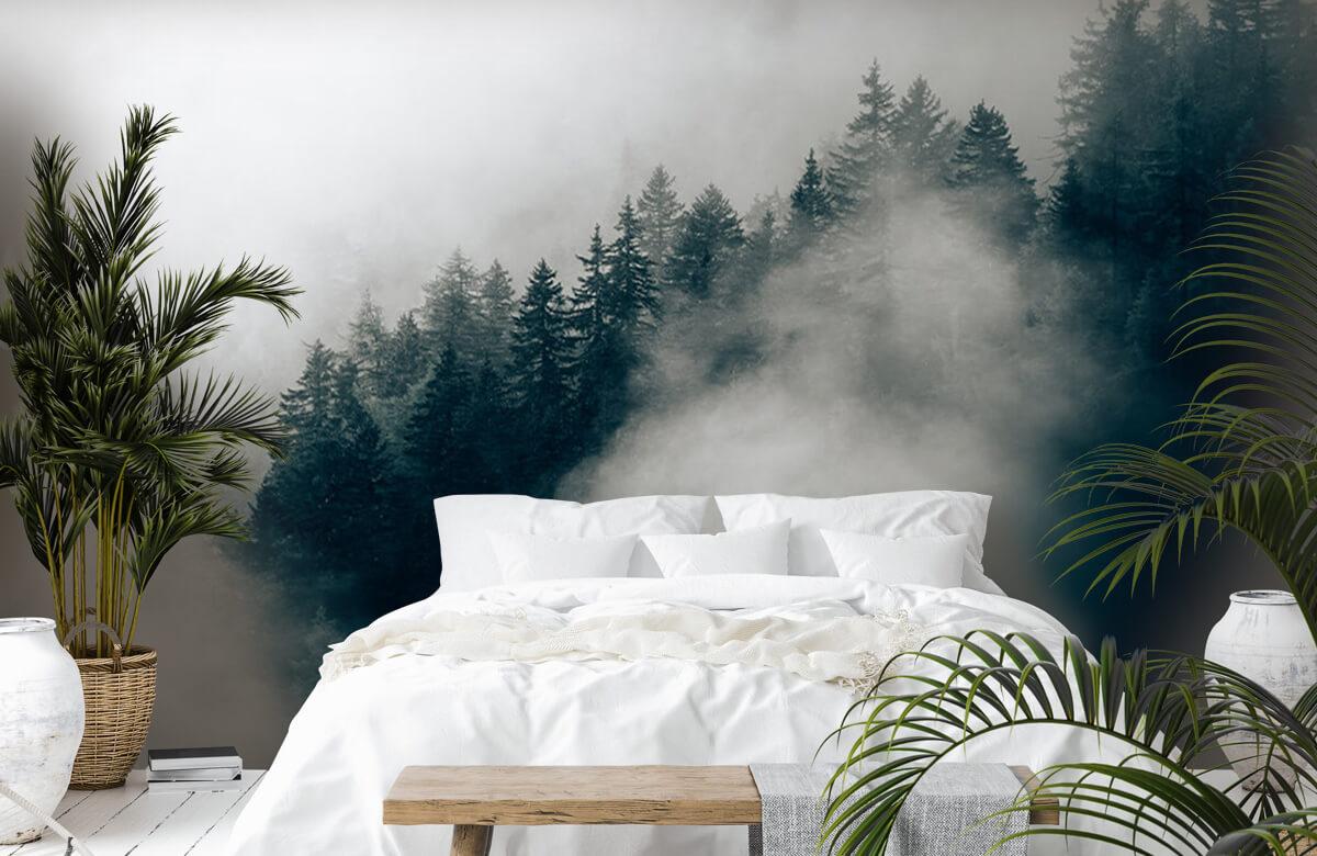 Wallpaper Dimmig alpin morgon 5