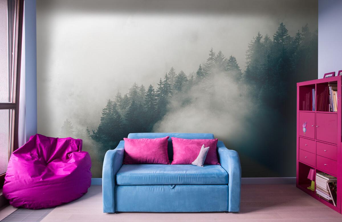 Wallpaper Dimmig alpin morgon 11