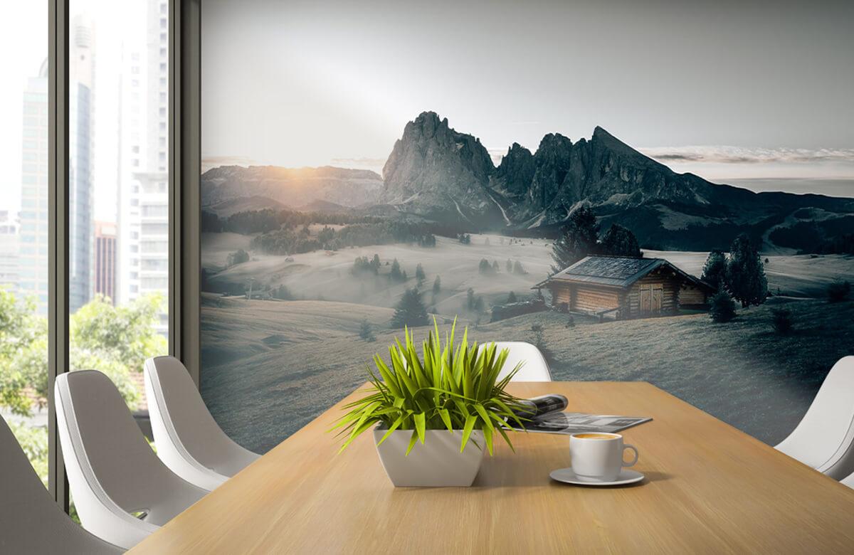 Wallpaper Landskap Sydtyrolen 2