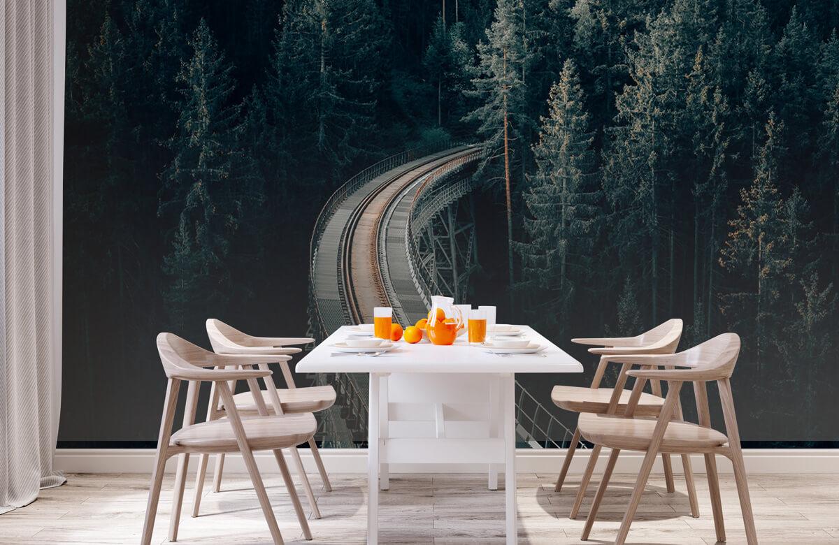 Wallpaper En gammal övergiven järnväg 2