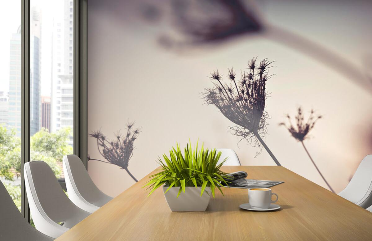 Silhuetter av växter 2