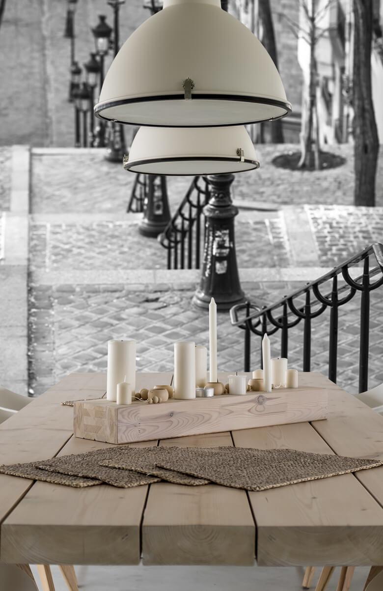 De berömda trapporna i Montmartre 6