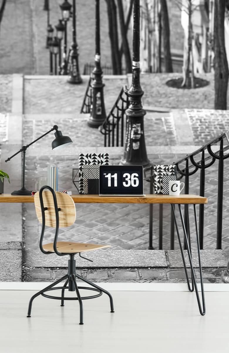 De berömda trapporna i Montmartre 11