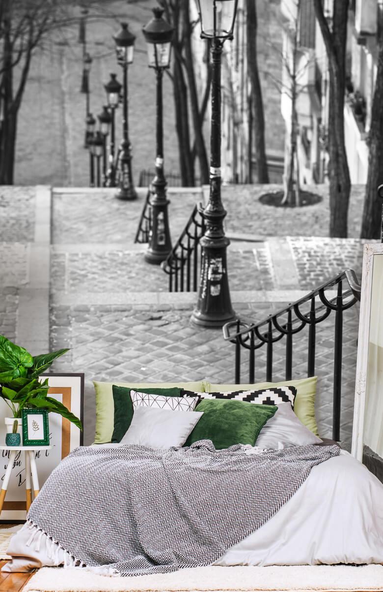 De berömda trapporna i Montmartre 2