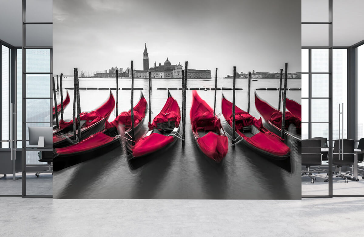 Röda gondoler 6