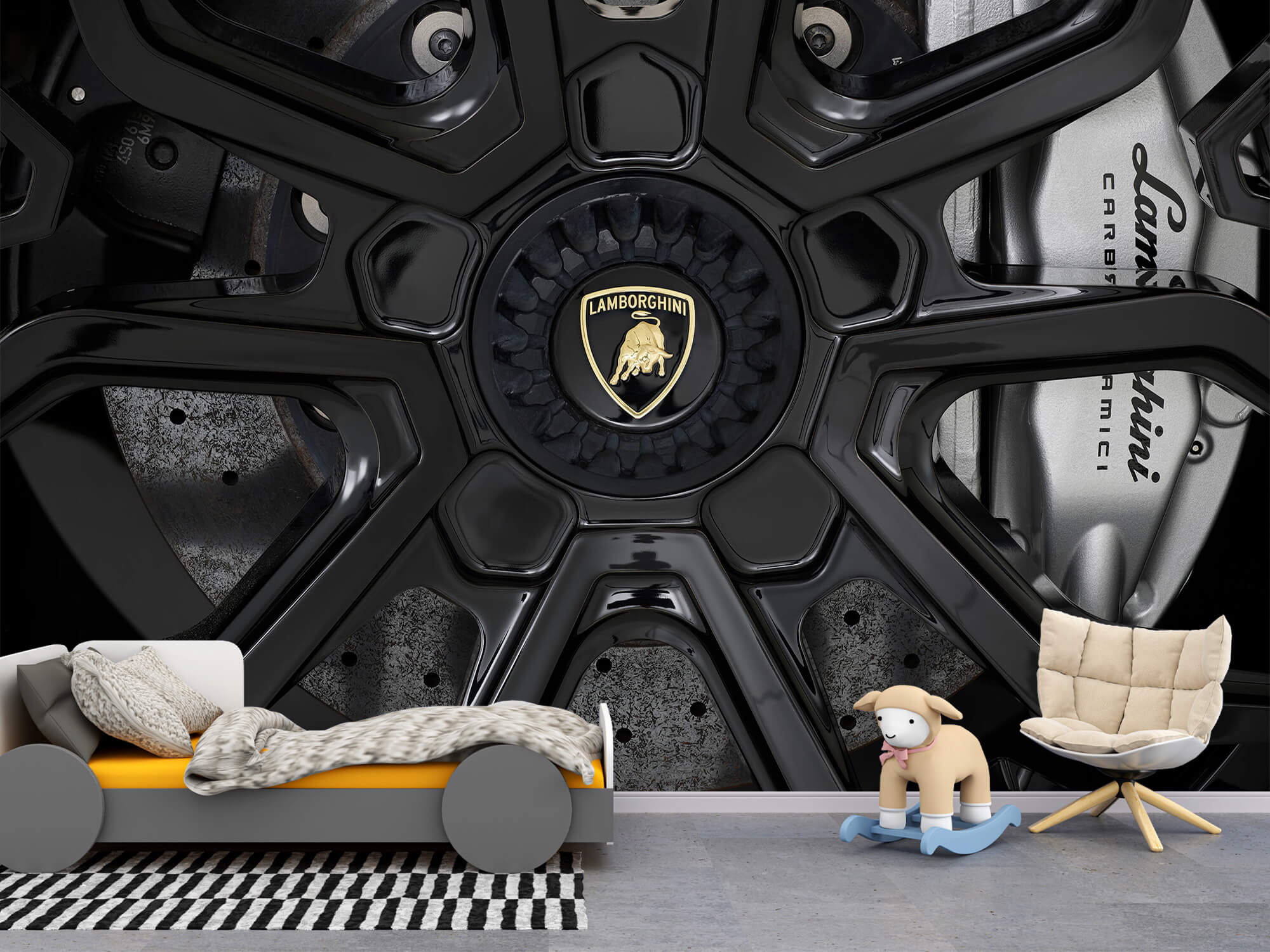 Pattern Lamborghini Huracán - Fälg 2