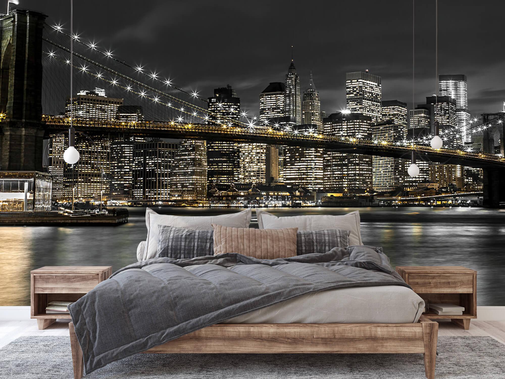 Brooklyn Bridge på natten 3