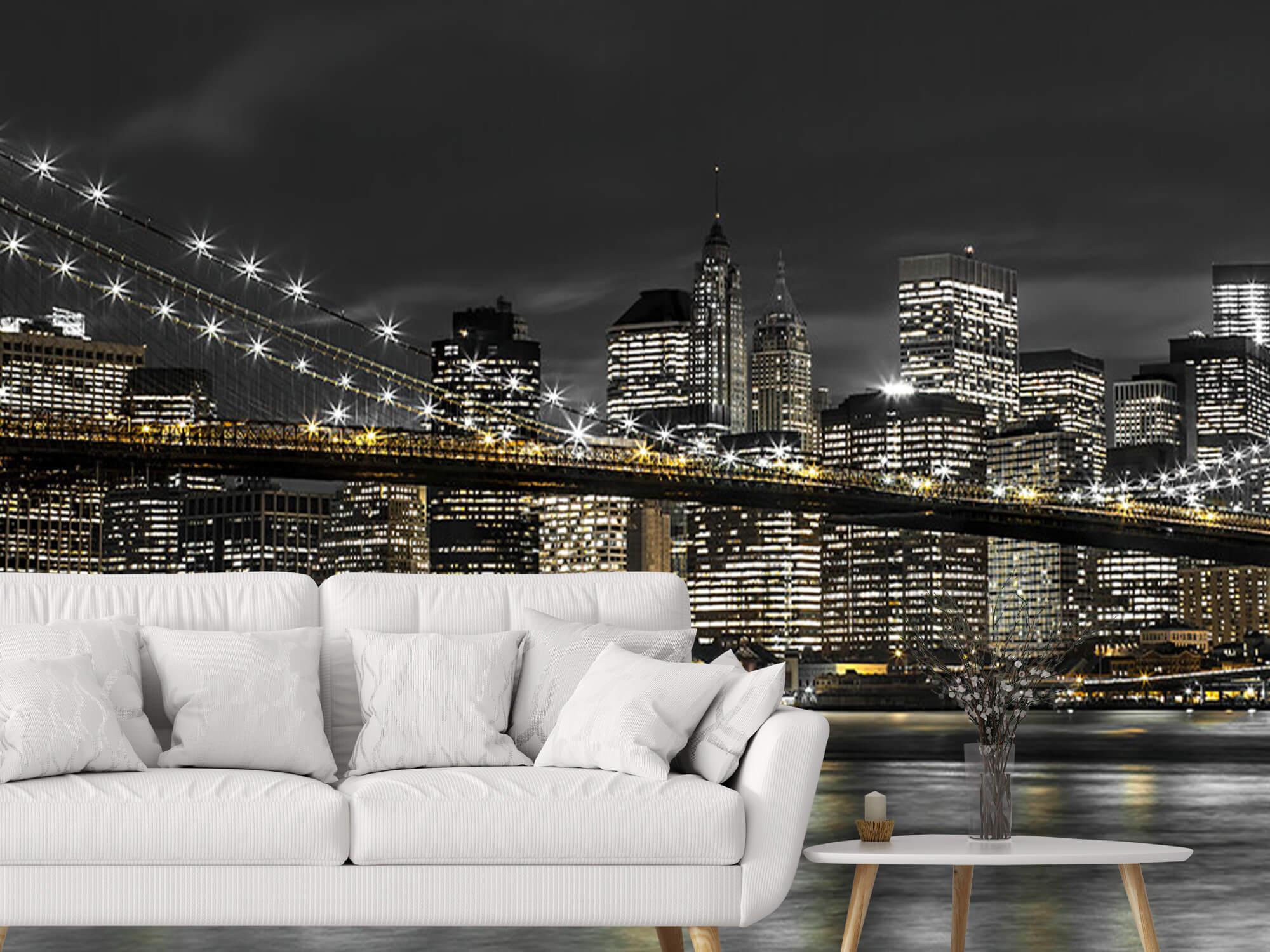 Brooklyn Bridge på natten 6