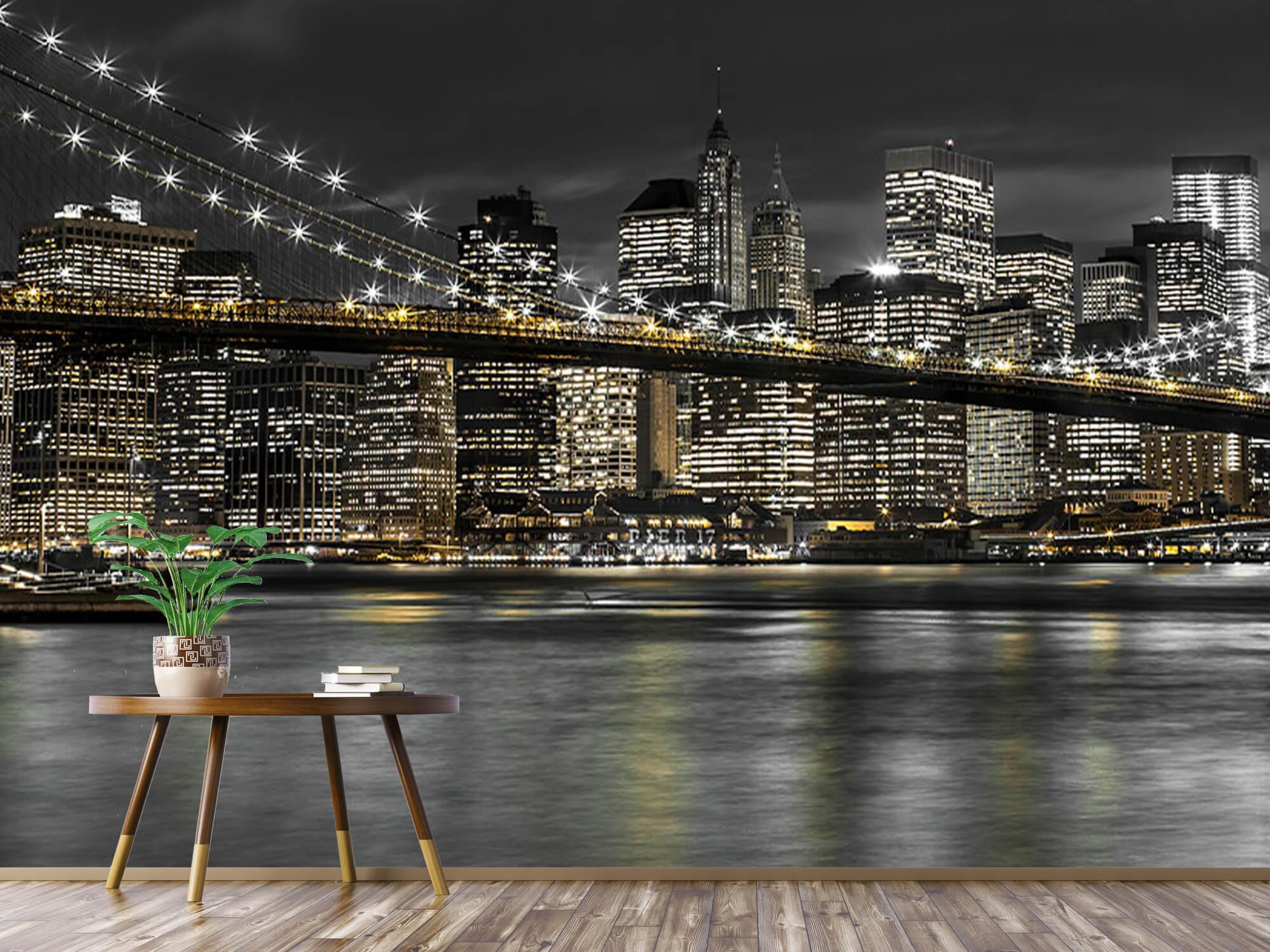 Brooklyn Bridge på natten 9