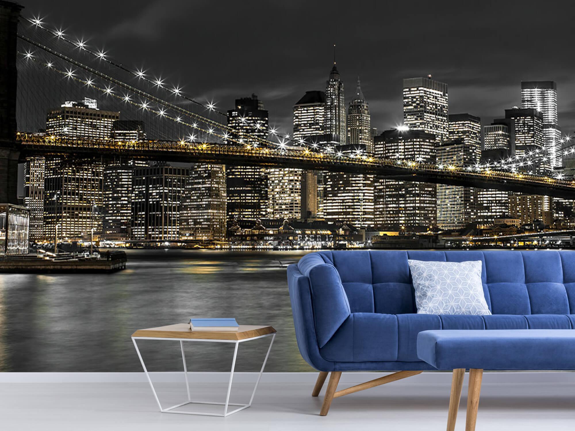 Brooklyn Bridge på natten 8