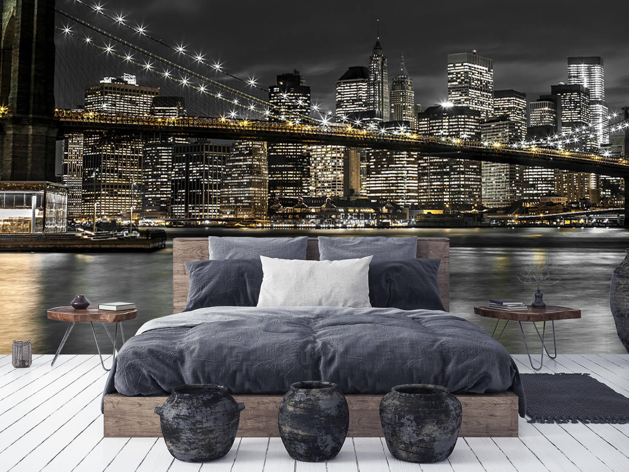 Brooklyn Bridge på natten 11