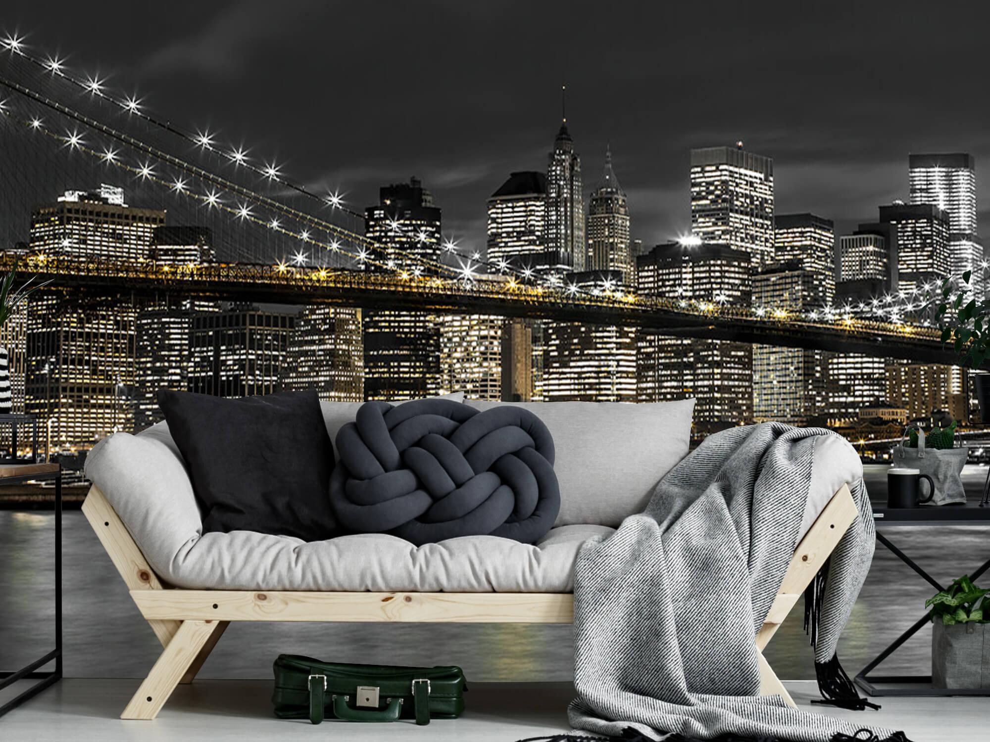 Brooklyn Bridge på natten 10