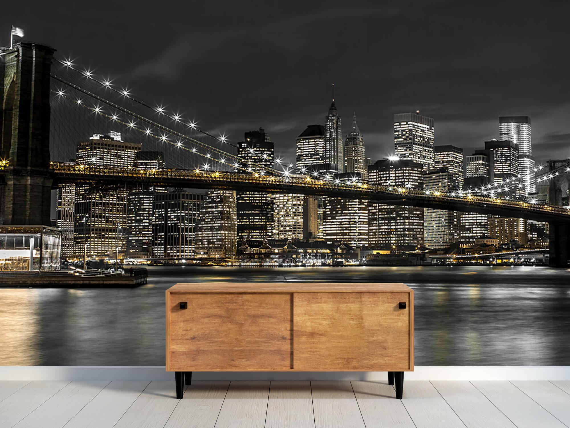 Brooklyn Bridge på natten 12