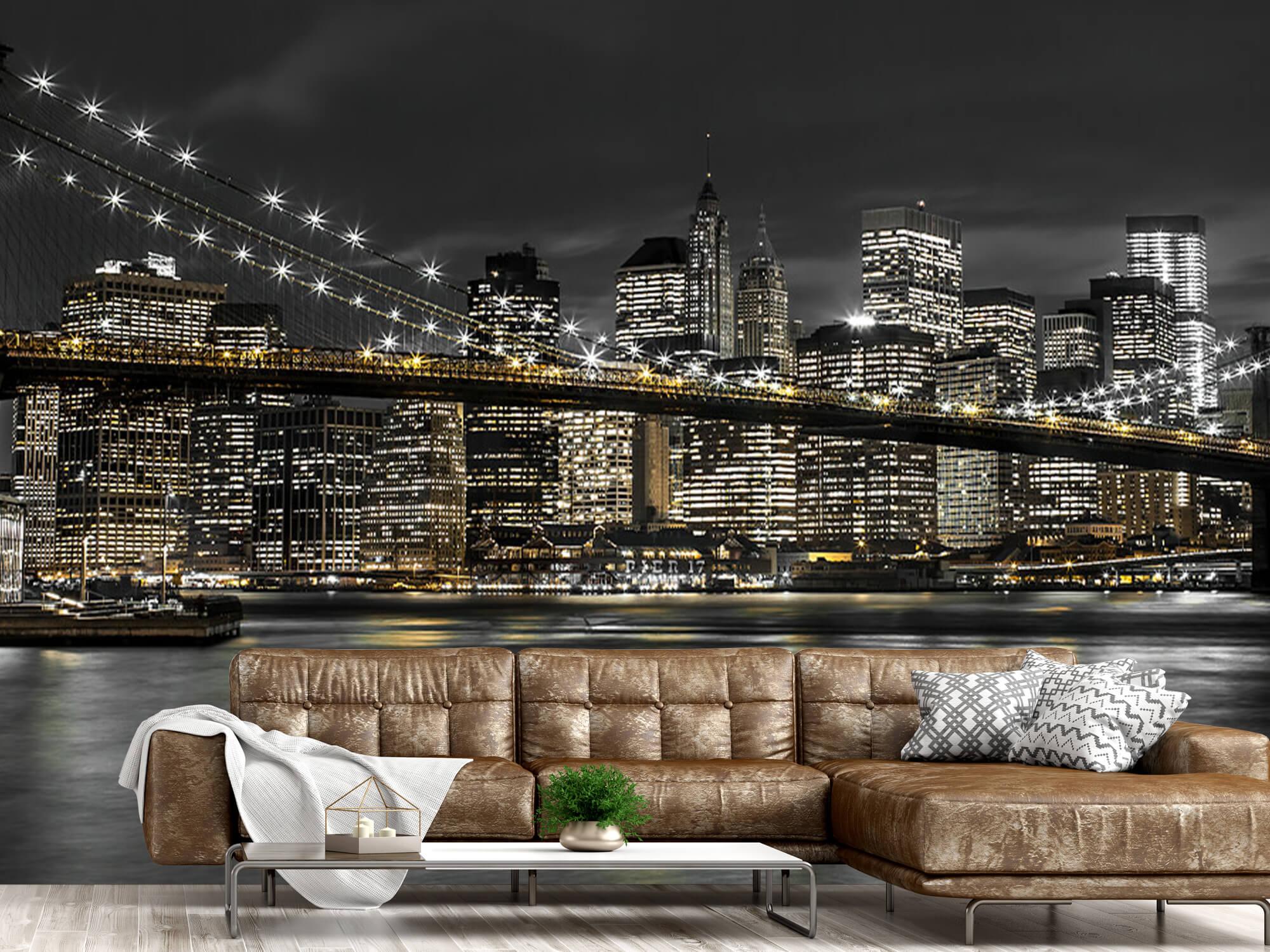 Brooklyn Bridge på natten 2