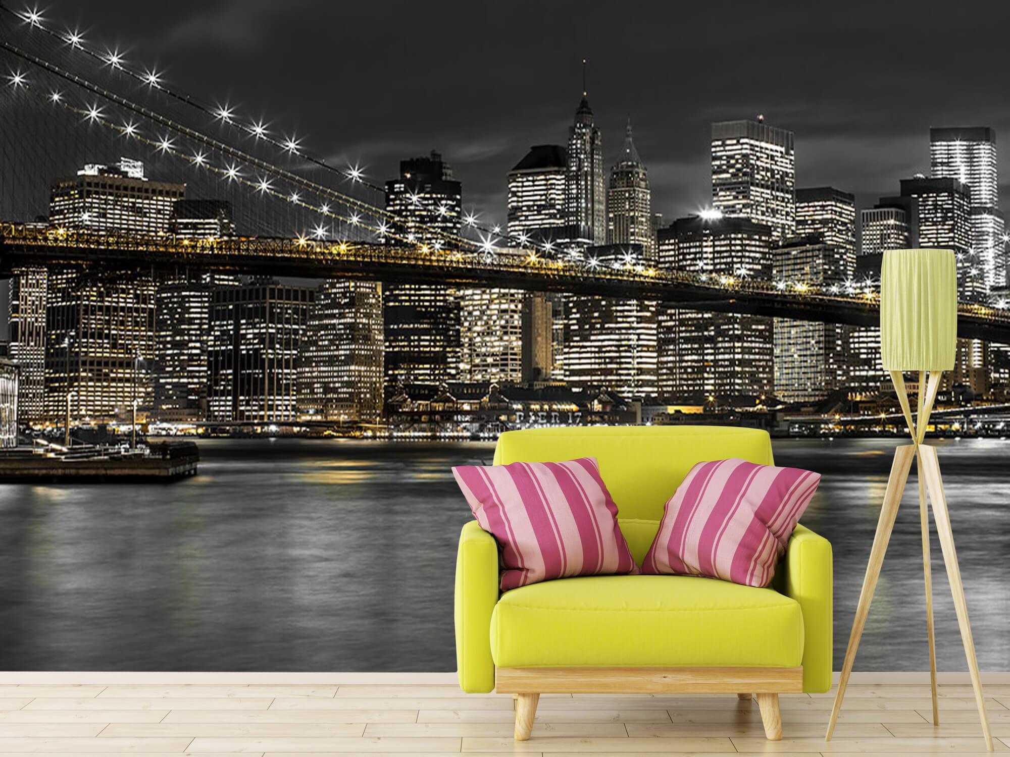Brooklyn Bridge på natten 18