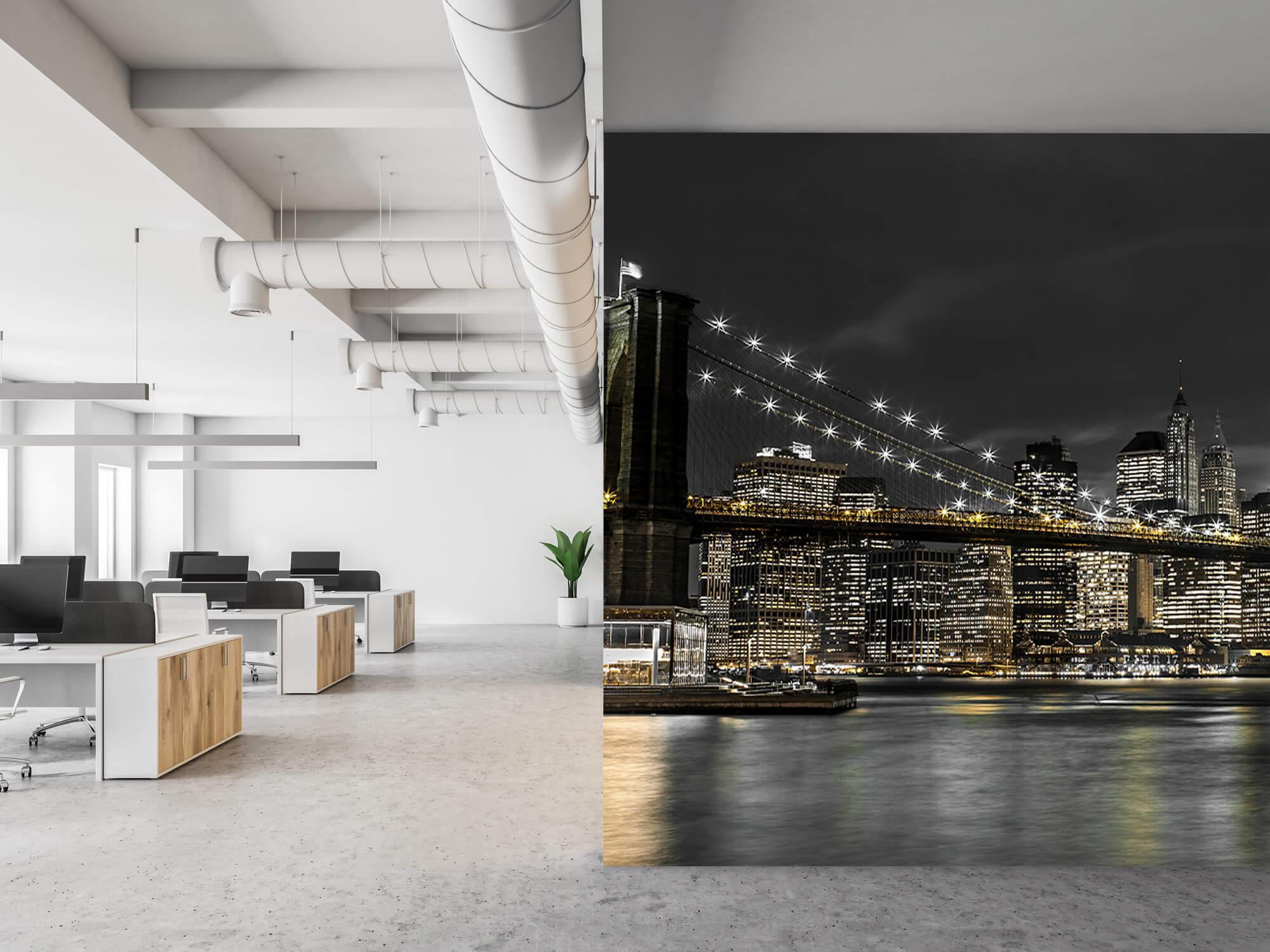 Brooklyn Bridge på natten 21