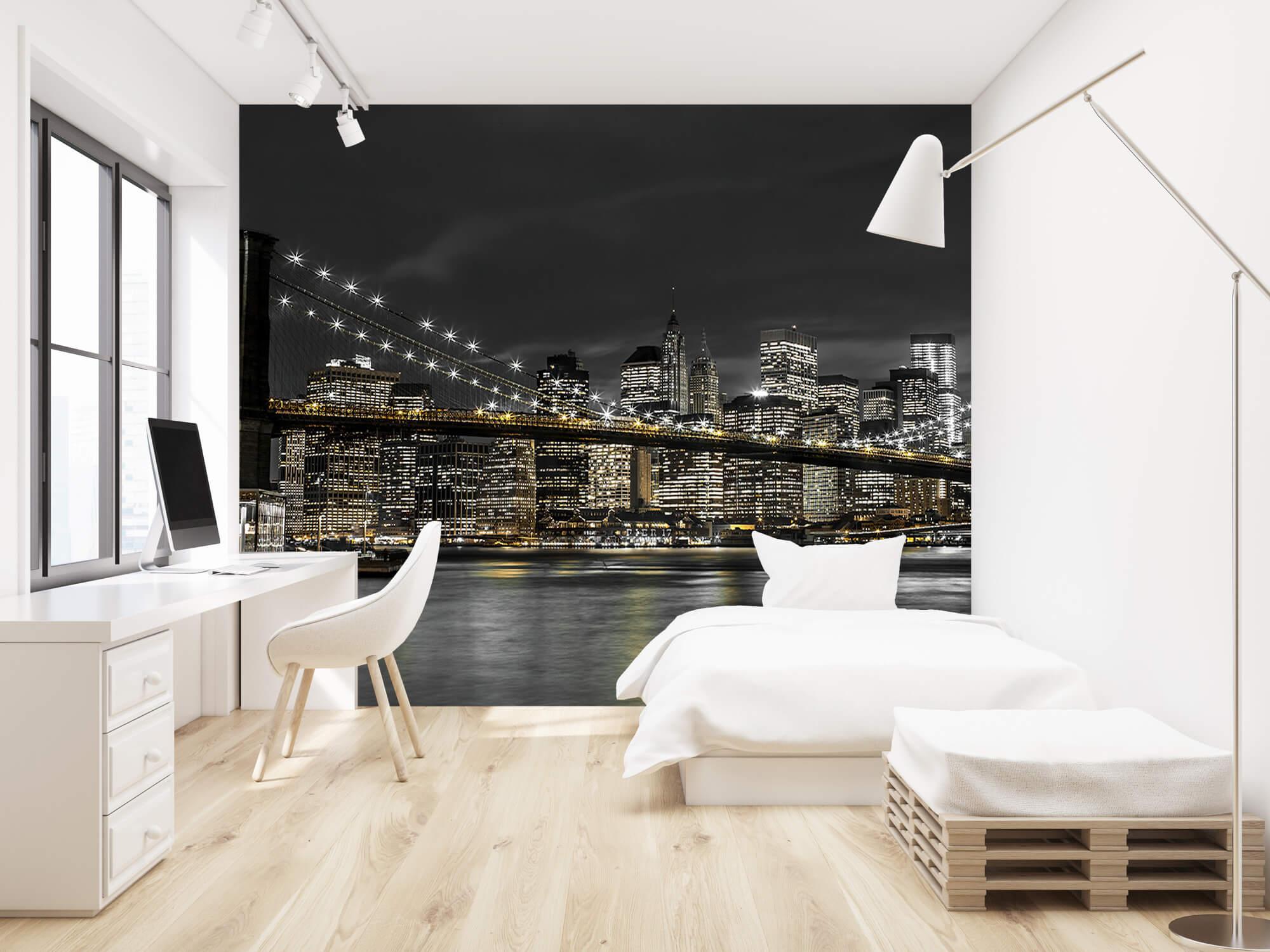 Brooklyn Bridge på natten 1