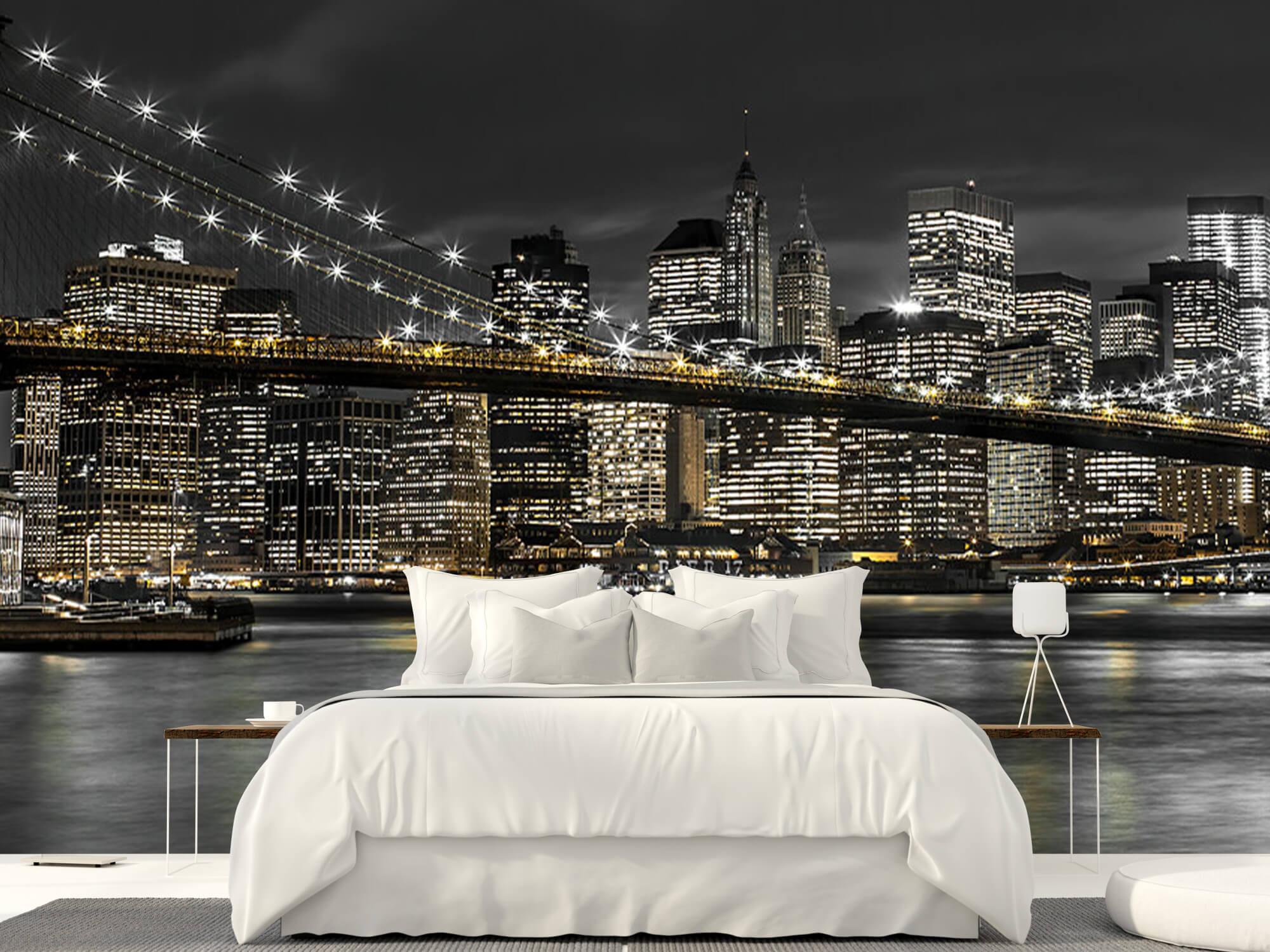 Brooklyn Bridge på natten 4