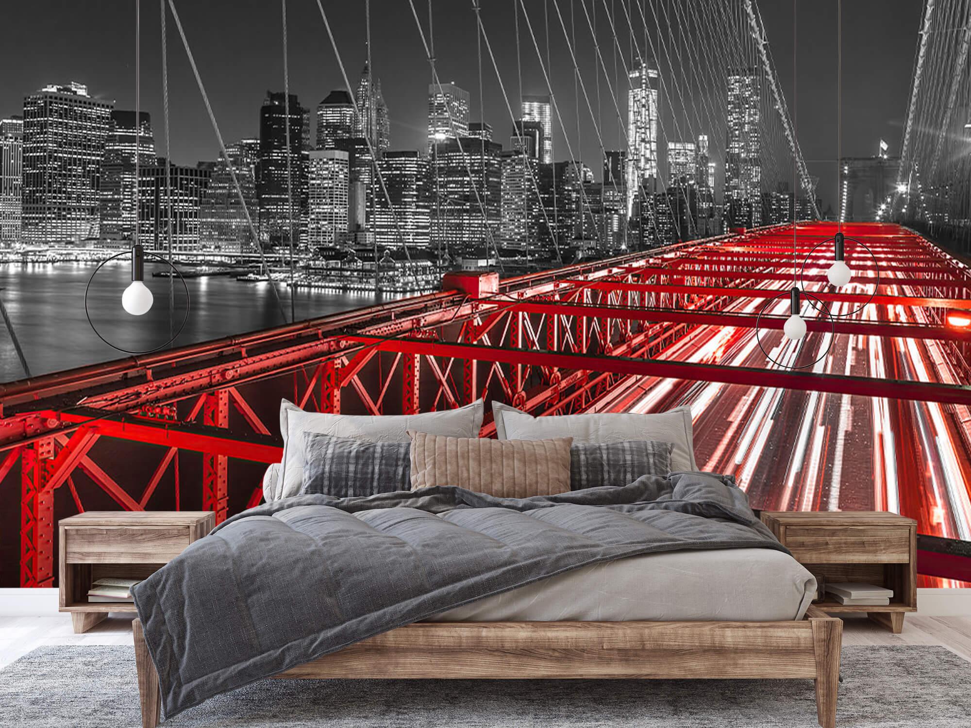 Röda Brooklyn Bridge 3