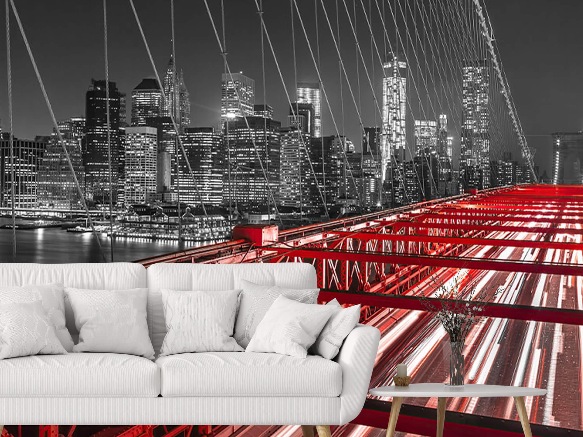 Röda Brooklyn Bridge 5