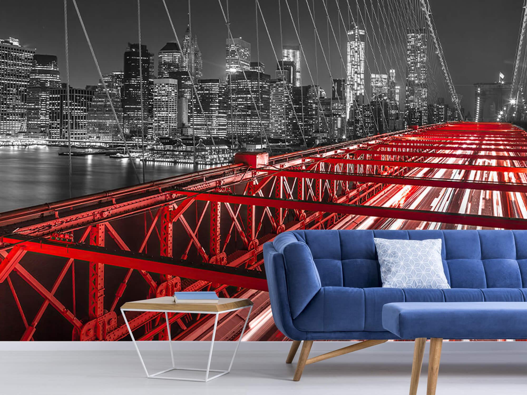 Röda Brooklyn Bridge 7