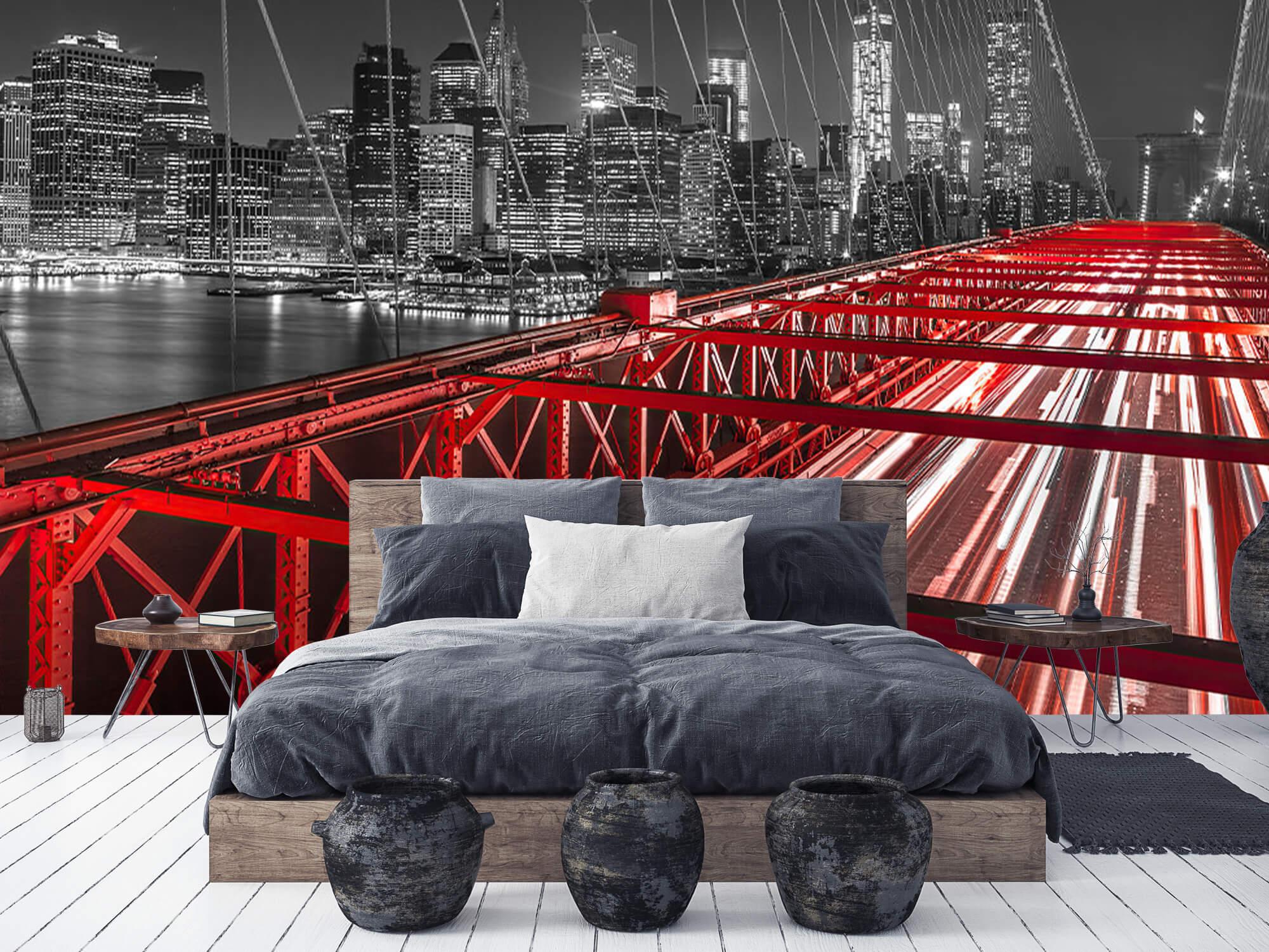 Röda Brooklyn Bridge 10