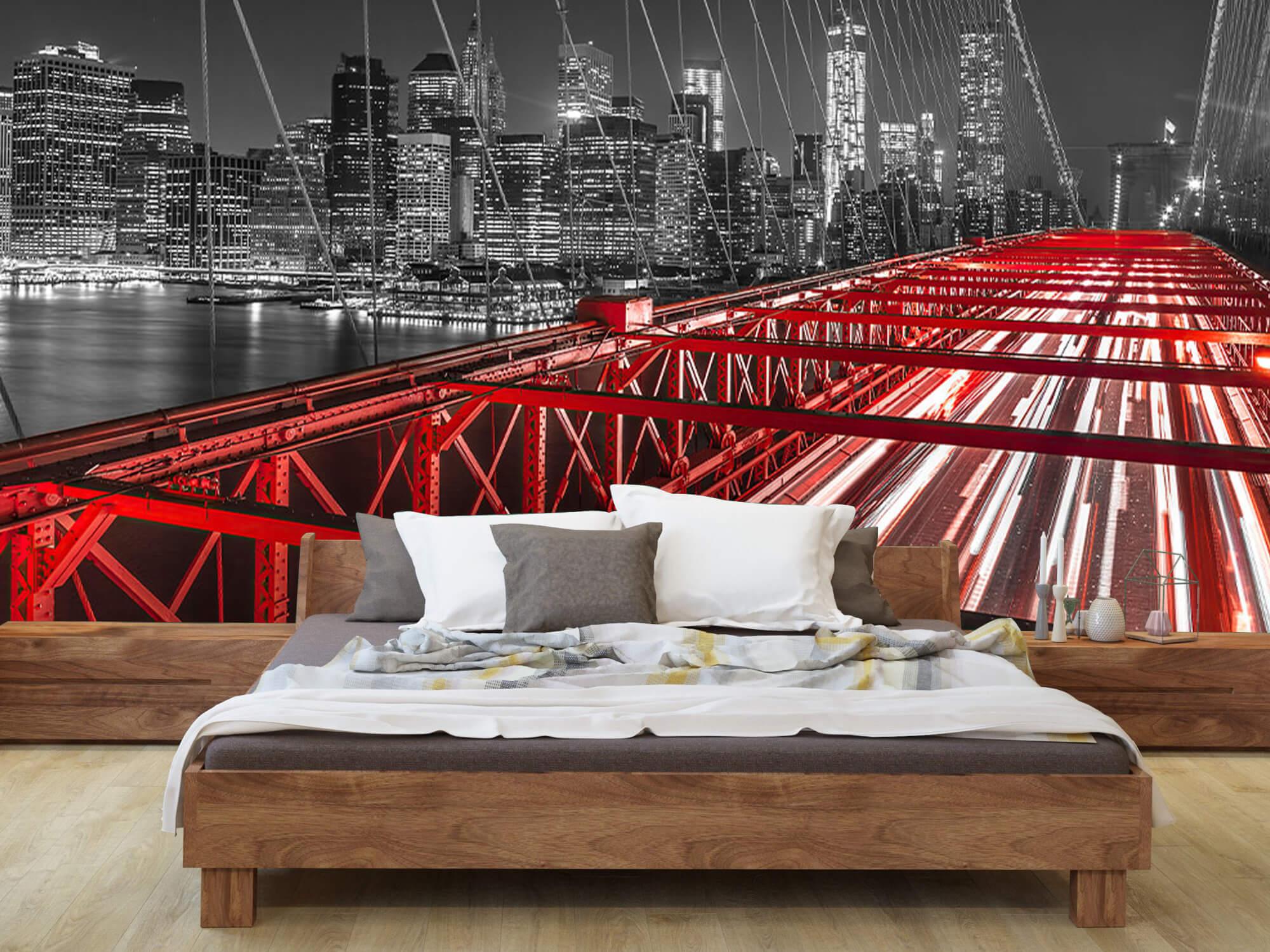 Röda Brooklyn Bridge 8