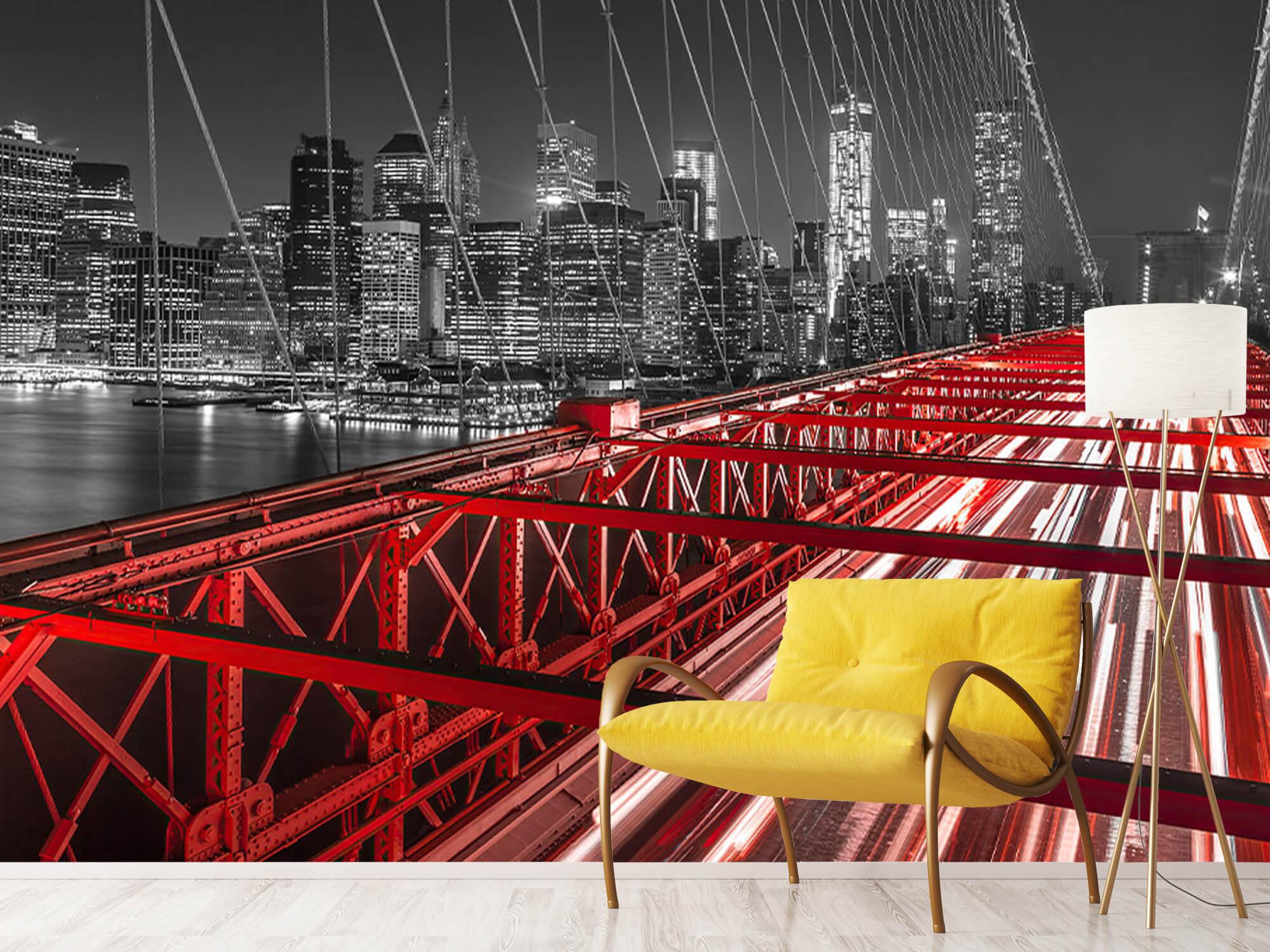 Röda Brooklyn Bridge 2