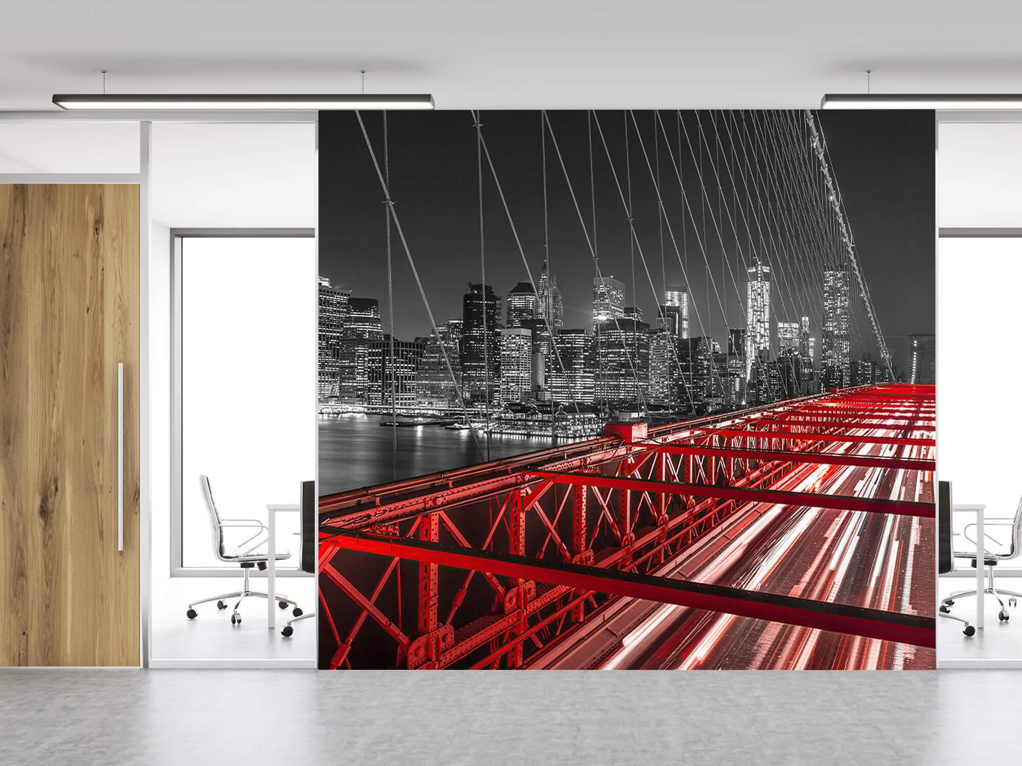 Röda Brooklyn Bridge 4