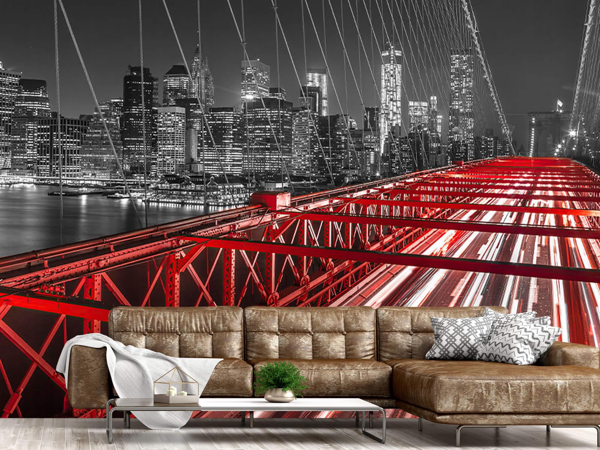 Röda Brooklyn Bridge 6