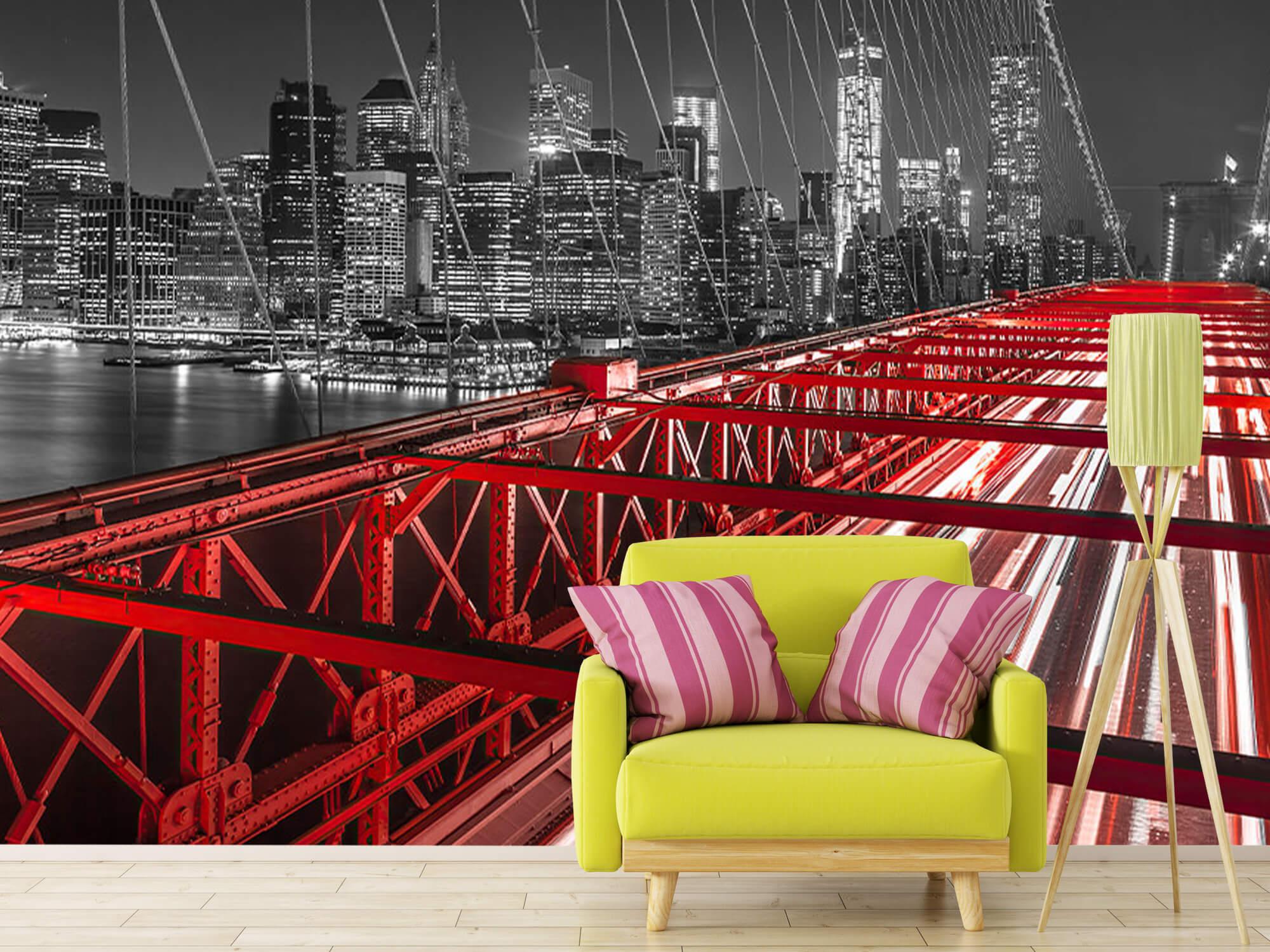 Röda Brooklyn Bridge 13
