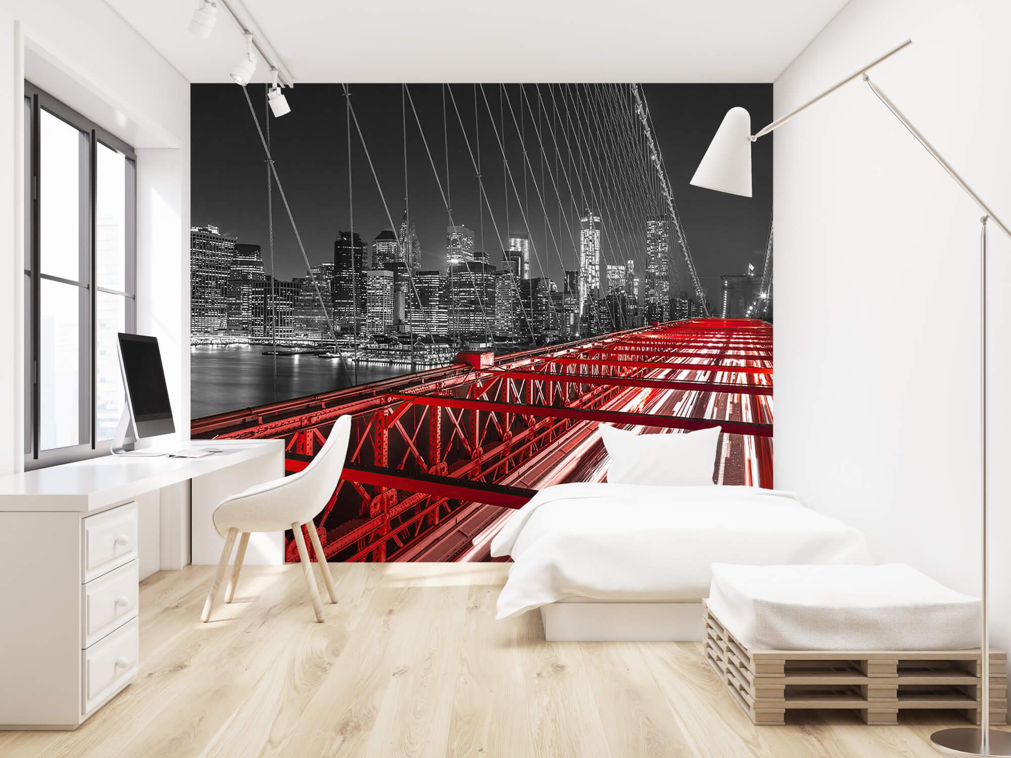 Röda Brooklyn Bridge 1