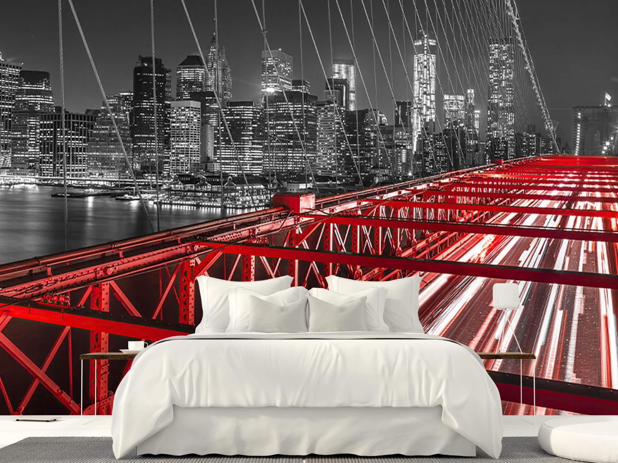 Röda Brooklyn Bridge 15