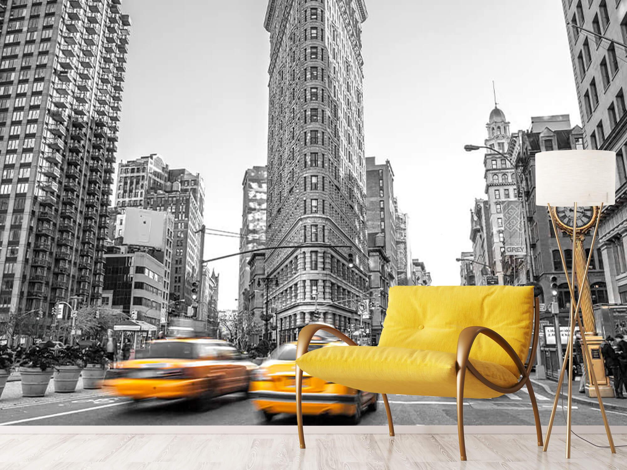 En livlig gata i New York 13