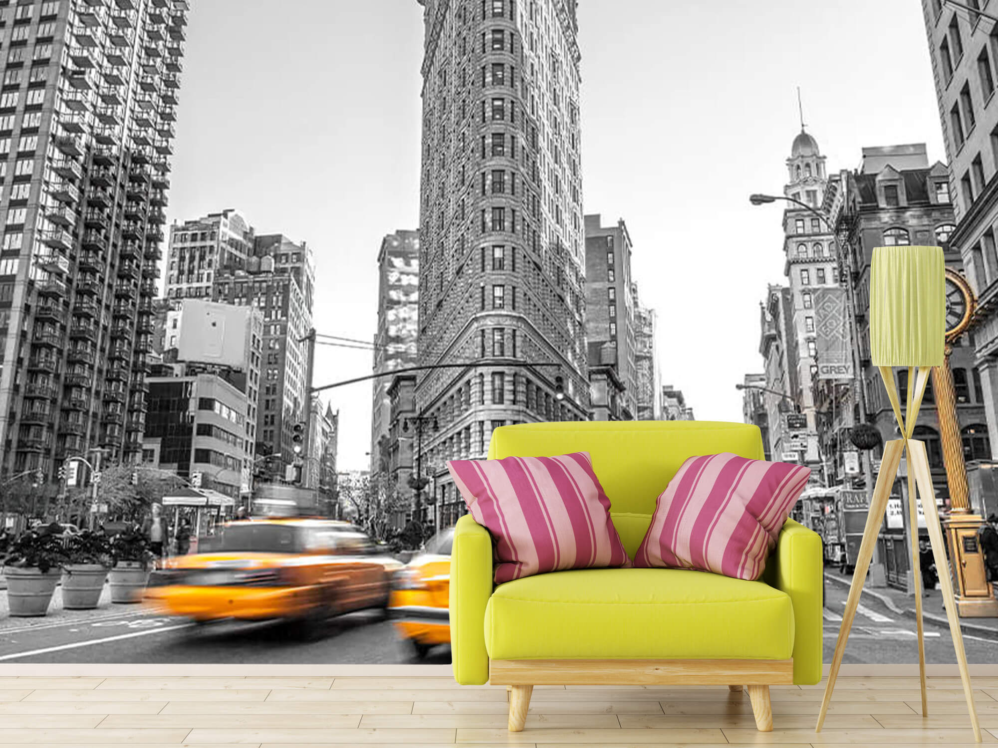 En livlig gata i New York 11