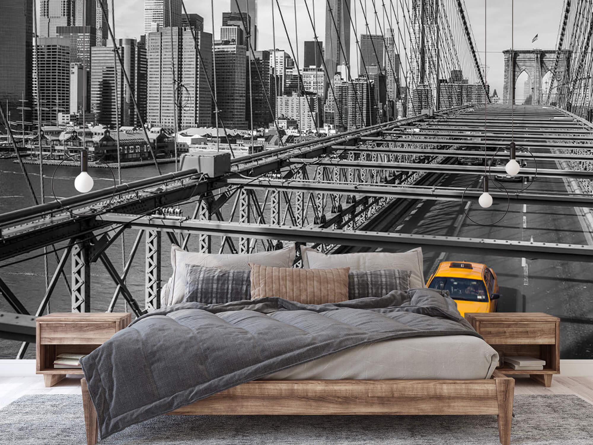 En taxi över Brooklyn Bridge 5