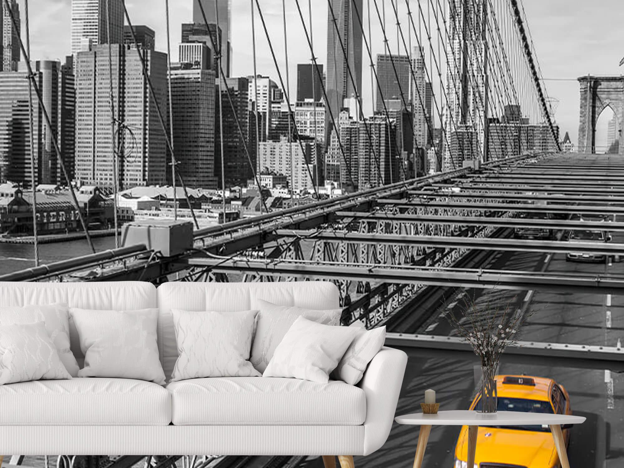 En taxi över Brooklyn Bridge 4