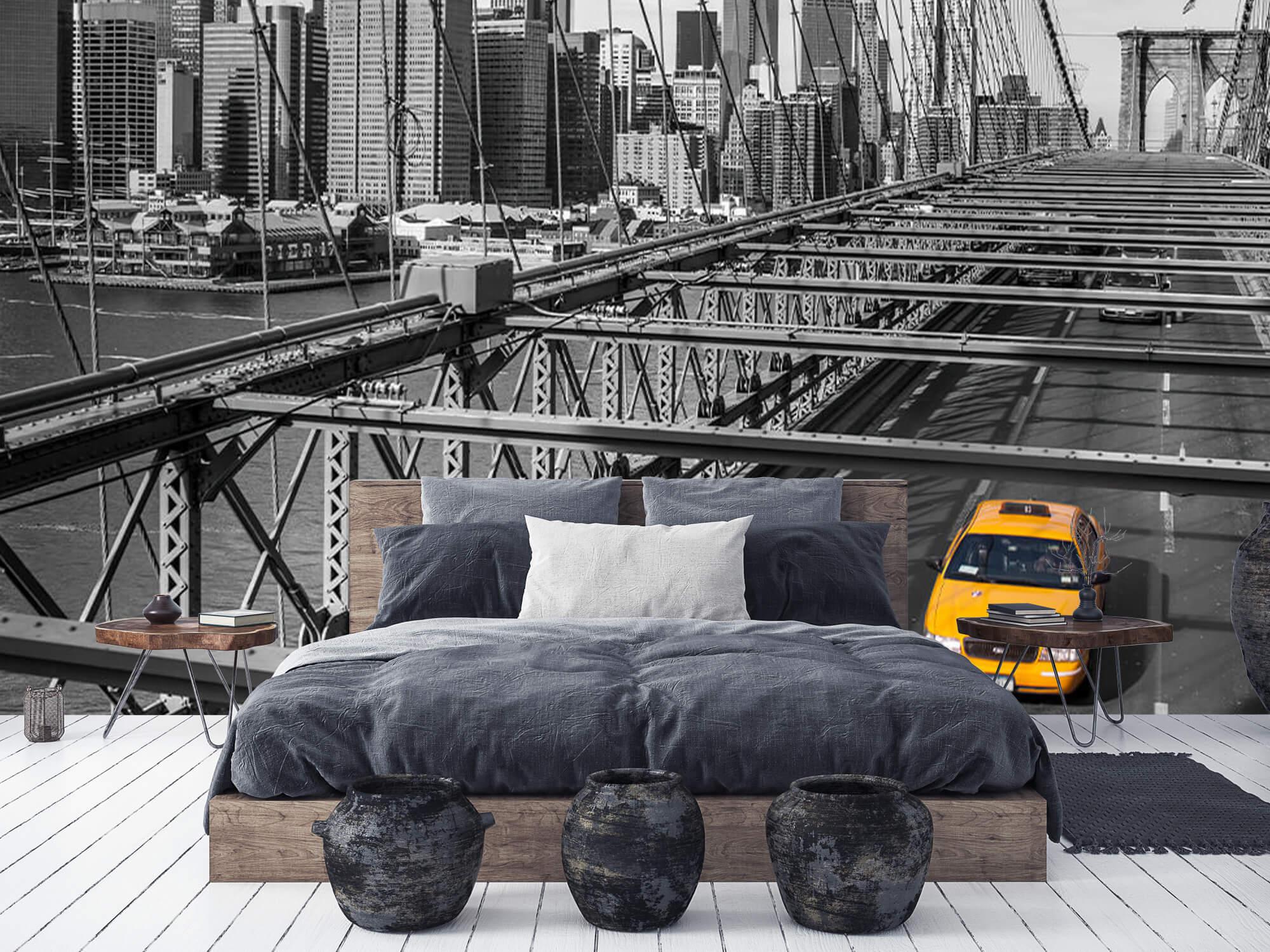 En taxi över Brooklyn Bridge 9