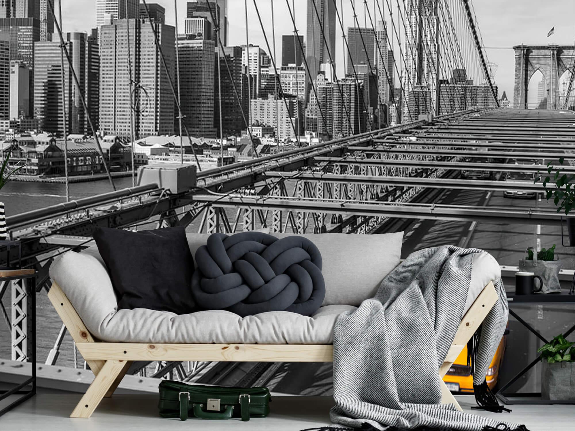 En taxi över Brooklyn Bridge 7