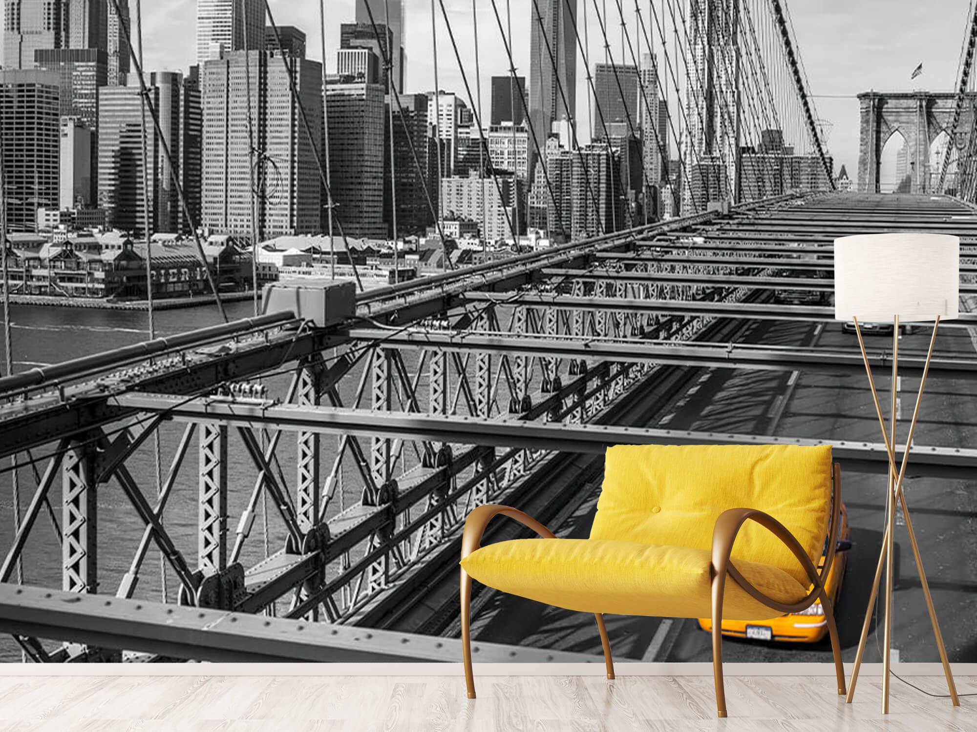 En taxi över Brooklyn Bridge 16