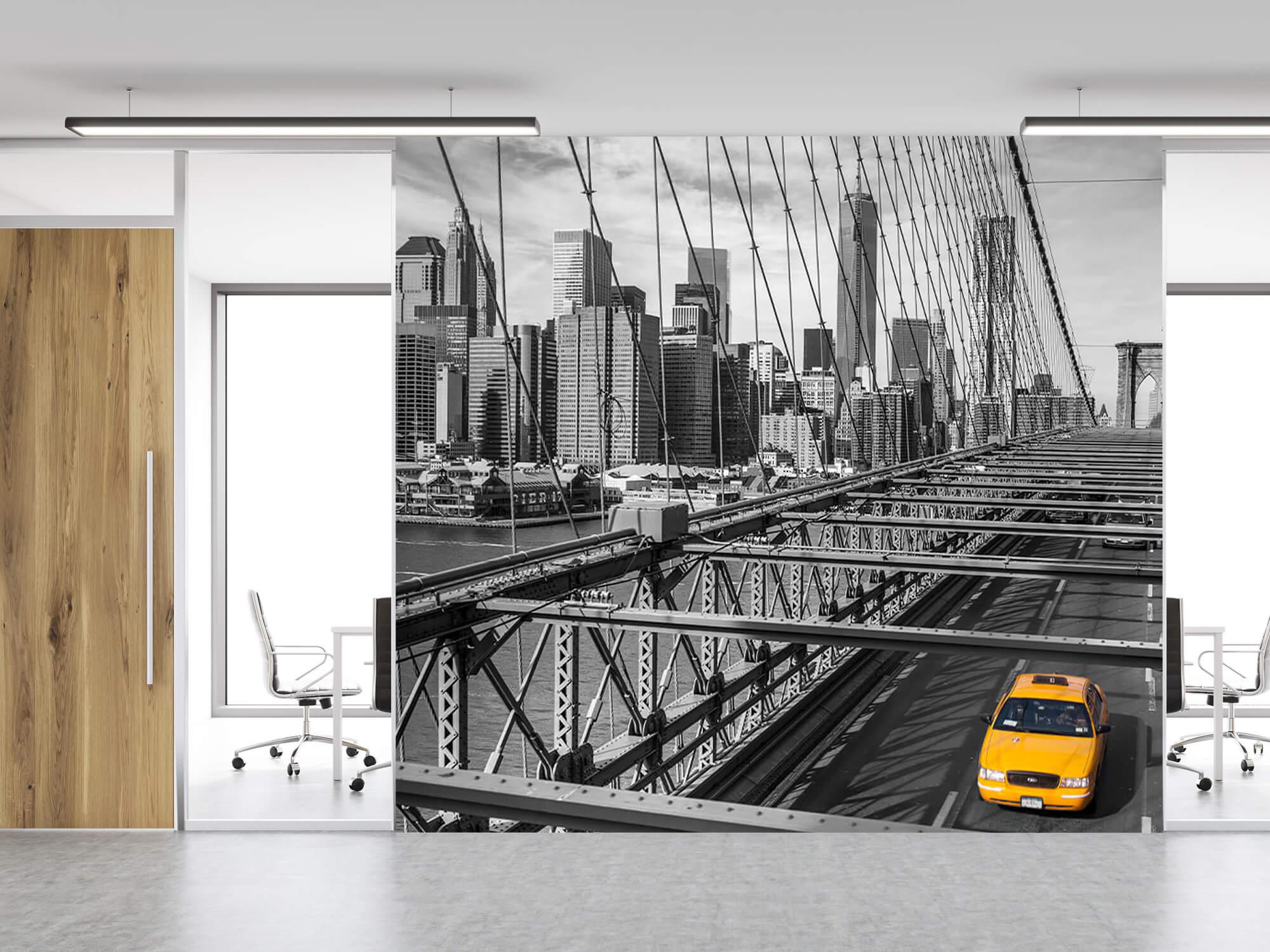En taxi över Brooklyn Bridge 8