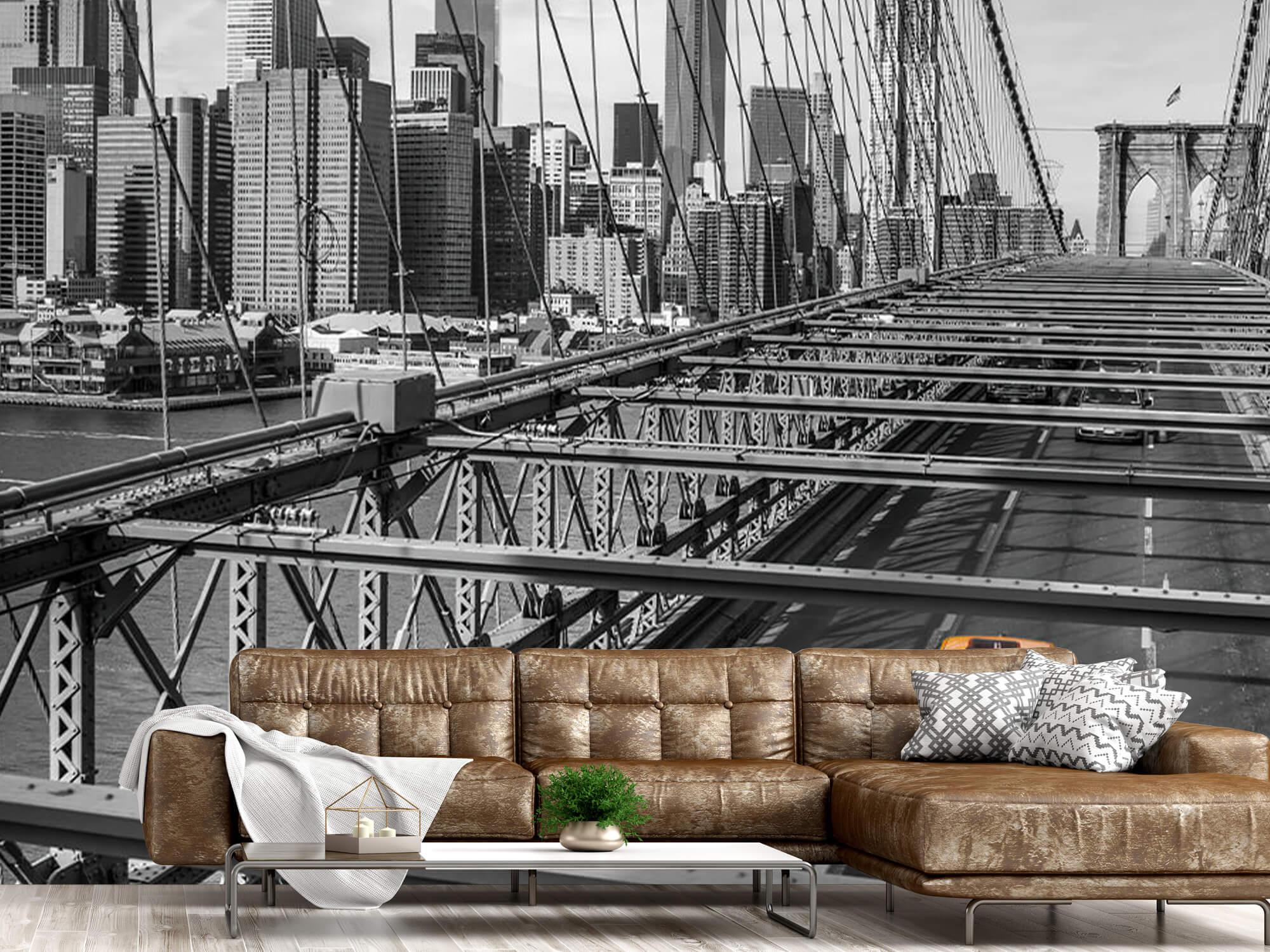 En taxi över Brooklyn Bridge 17