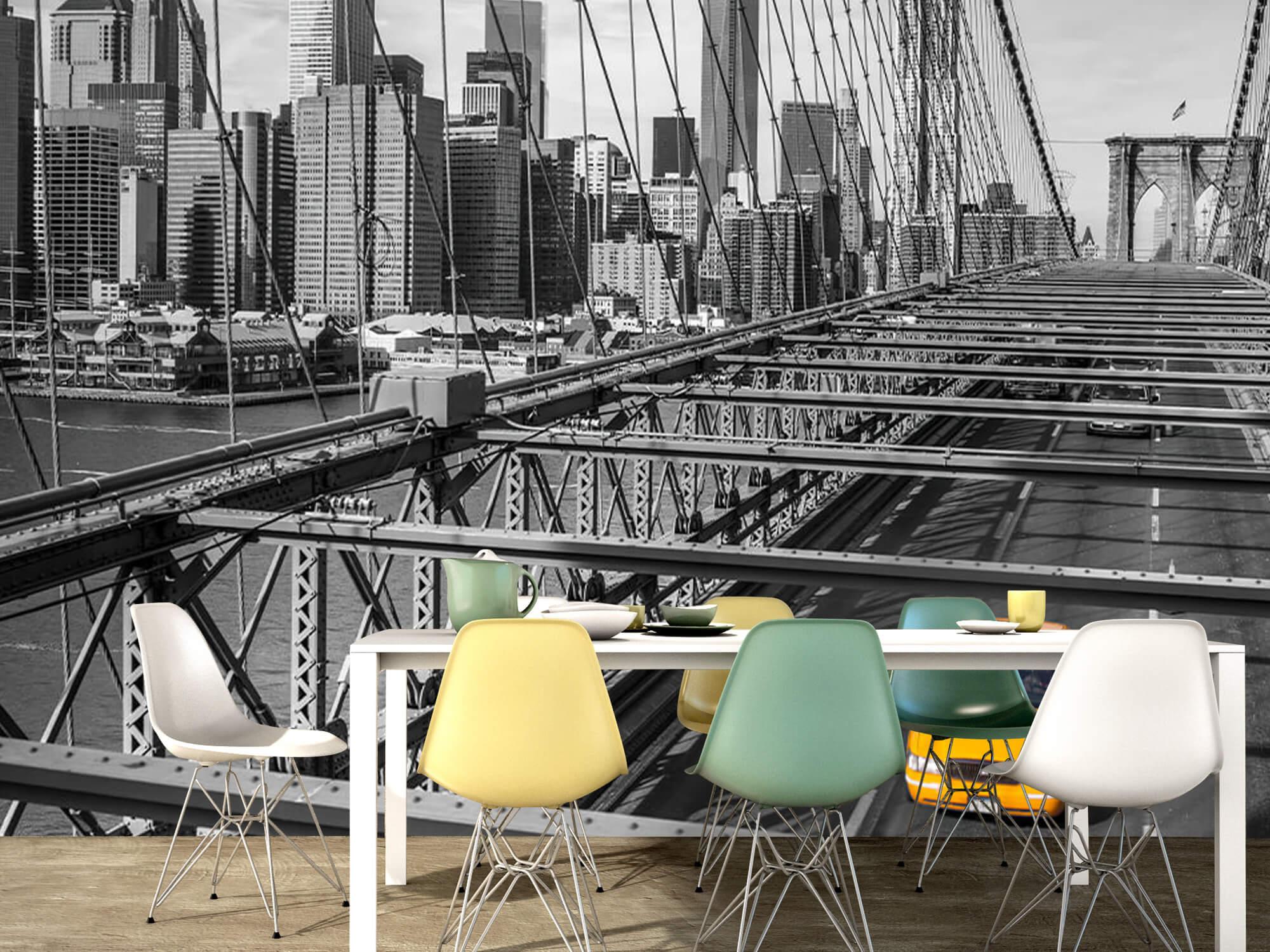 En taxi över Brooklyn Bridge 14
