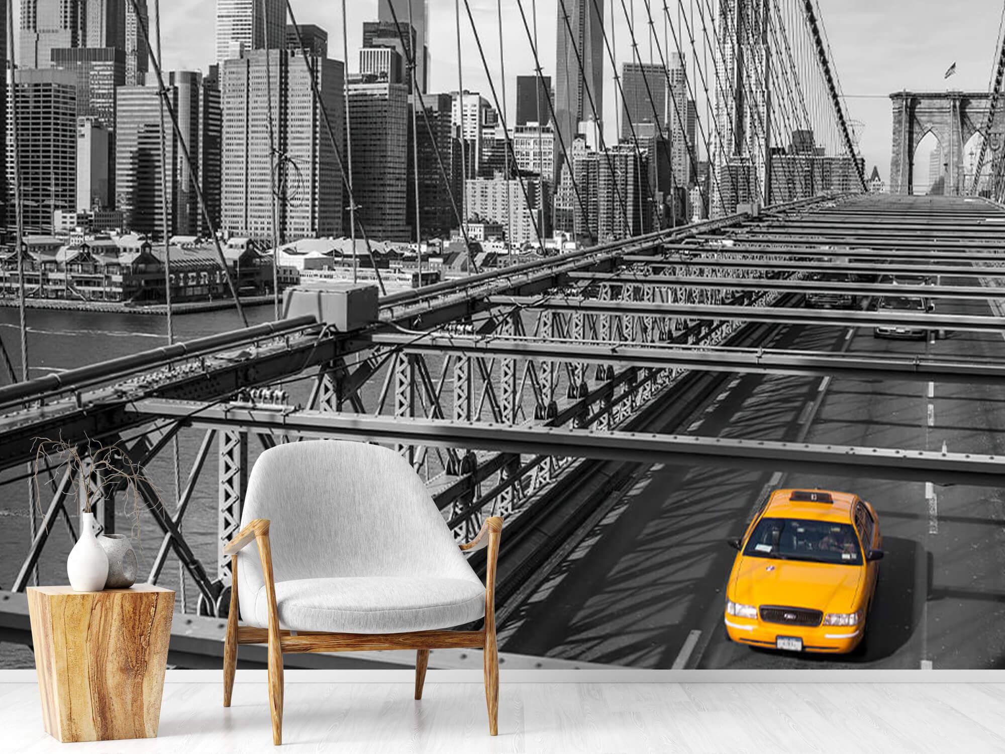 En taxi över Brooklyn Bridge 2