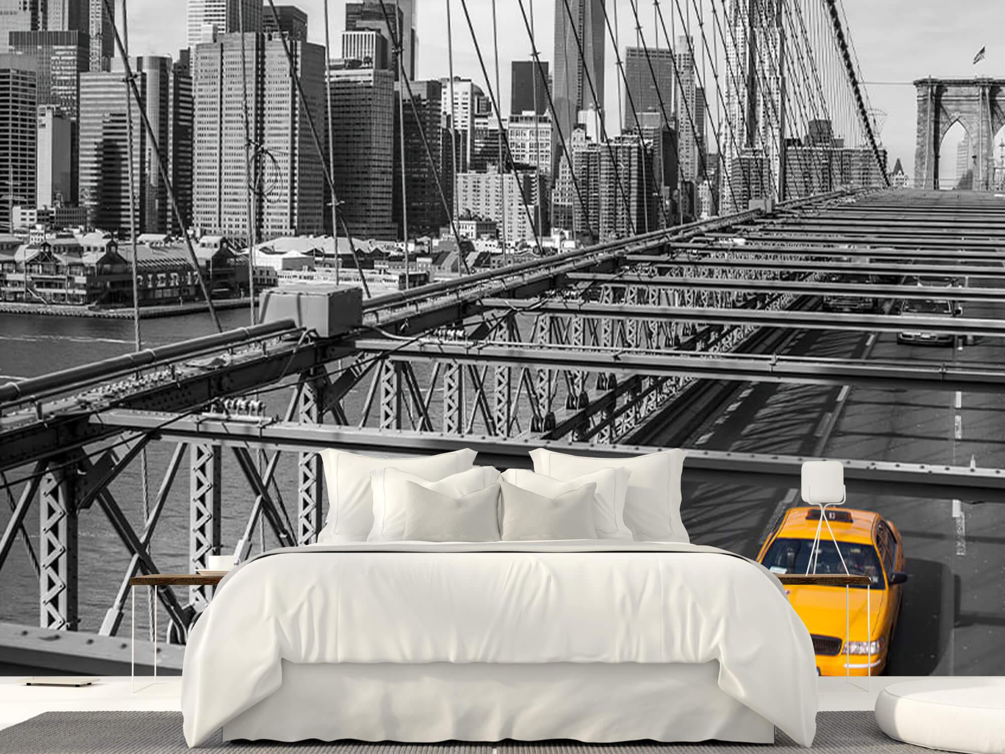 En taxi över Brooklyn Bridge 1