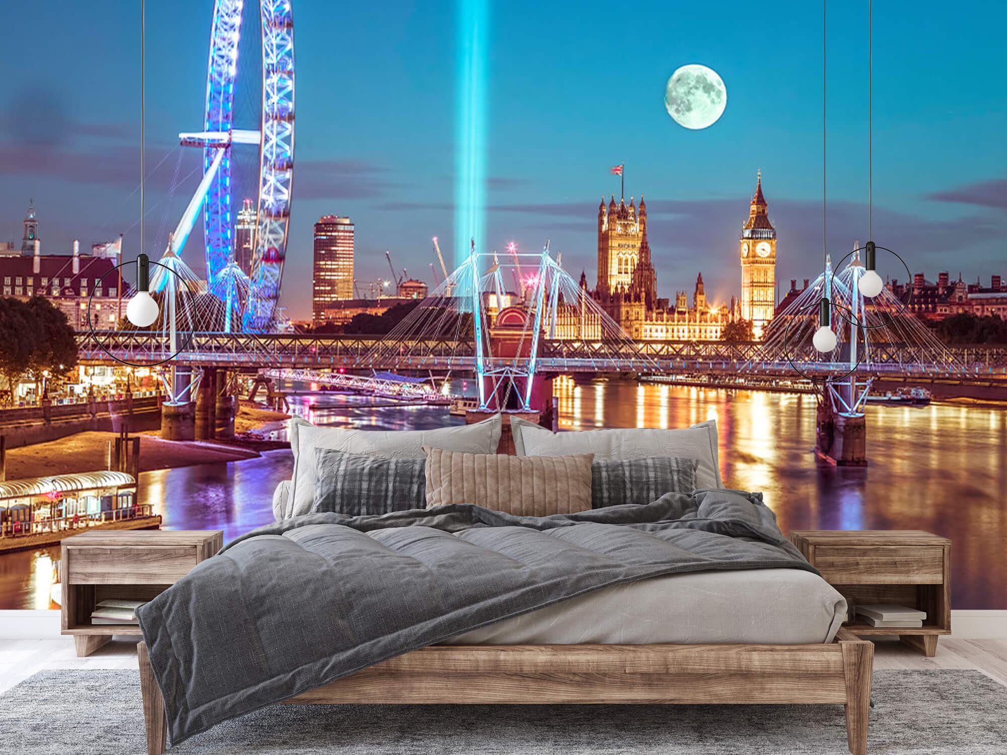 Westminster med fullmåne 3